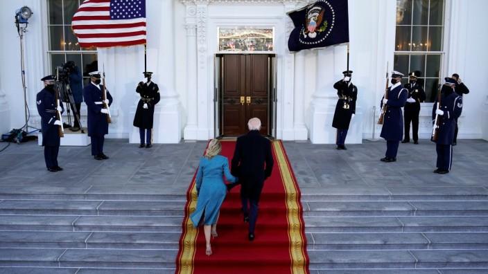 Biden USA Weißes Haus