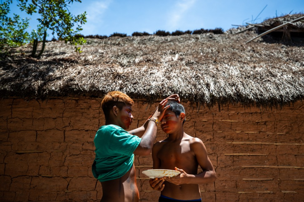 *** BESTPIX *** Vaccination of the Mata Verde Bonita Indigenous Tribe Amidst the Coronavirus (COVID - 19) Pandemic