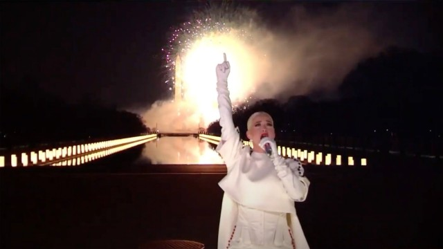 January 20, 2021, Washington, District of Columbia, USA: Katy Perry performs during Celebrating America, a primetime pr