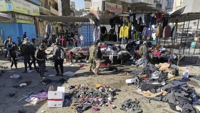 Irak: Terroranschläge in Bagdad im Januar 2021