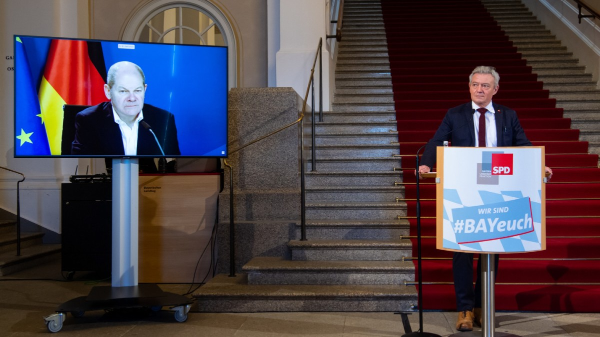 Winterklausur: Olaf Scholz ermutigt Bayern-SPD