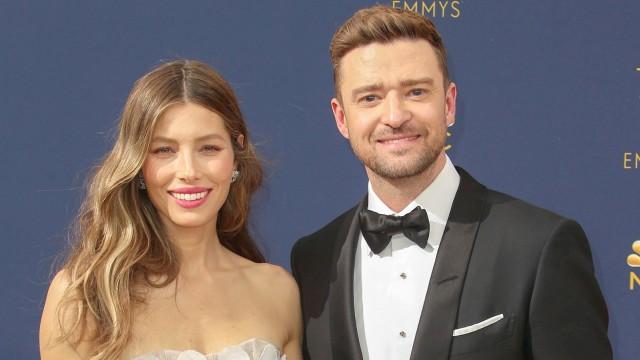 Jessica Biel und Justin Timberlake bei der Ankunft zur Verleihung der Primetime Emmy Awards 17 09 20