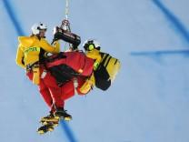 Ski alpin: Streif-Abfahrt wird abgebrochen