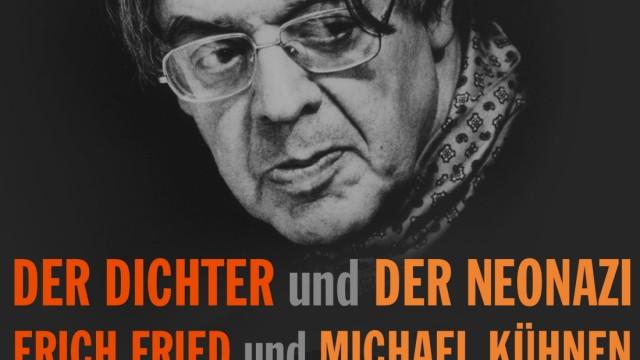 Cover Der Dichter und der Neonazi, Erich Fried und Michael Kühnen, Klett-Cotta
