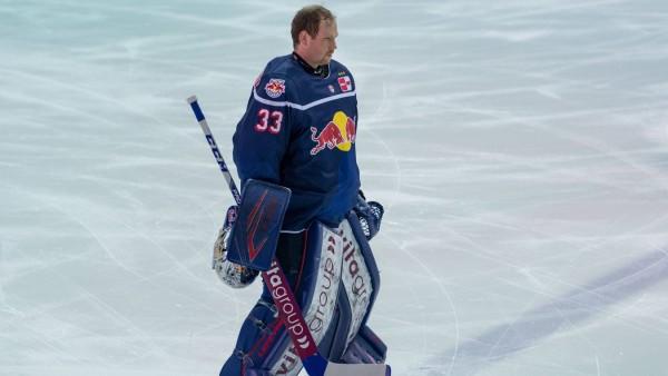 Eishockey, DEL, 18.01.2021, EHC Red Bull München - Straubing Tigers Im Bild Danny AUS DEN BIRKEN (EHC Red Bull München,; Eishockey