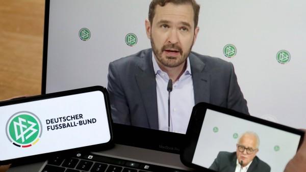 Fußball - DFB Bundestag 25.05.2020 Das Praesidium des Deutschen Fussball-Bundes hat einen Ausserordentlichen Bundestag
