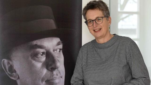 Im Lockdown: Birgitta Unger-Richter bereitet in Altomünster eine Ausstellung vor.