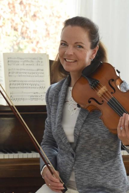 Im Lockdown: Barbara Blickle weiß um die heilende Kraft der Musik.