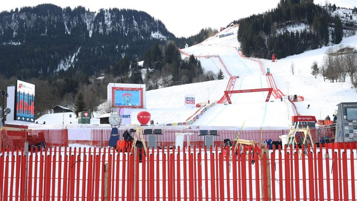 Ski alpin: Abfahrt in Kitzbühel auf Sonntag verlegt