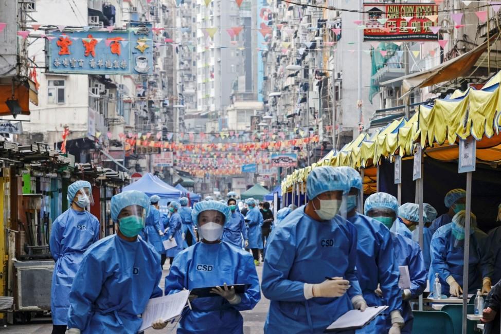 Outbreak of the coronavirus disease (COVID-19), in Hong Kong