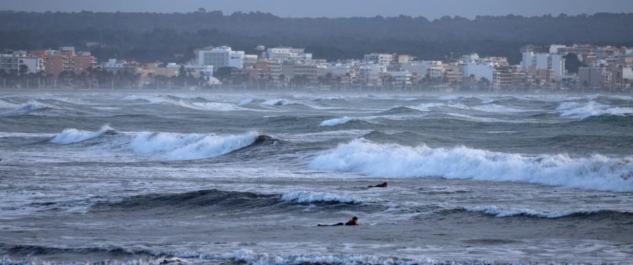 Windiges Wetter auf Mallorca