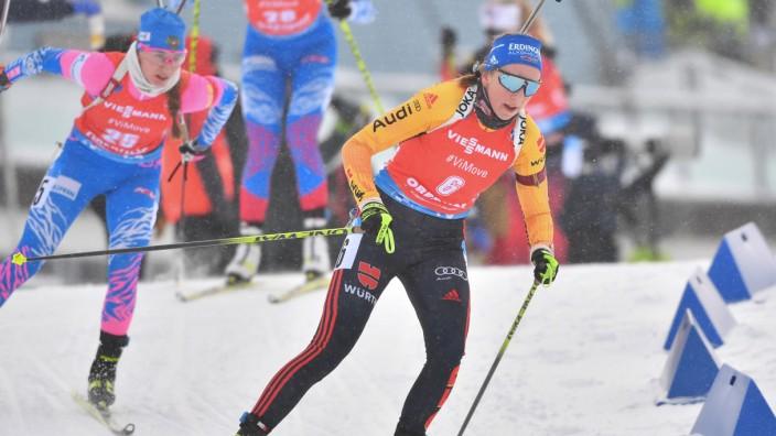 Biathlon-Weltcup in Oberhof