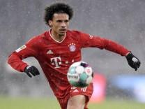 17.01.2021, Fussball 1. Bundesliga: FC Bayern - SC Freiburg 17.01.2021, Fussball 1. Bundesliga 2020/2021, 16. Spieltag,; Sané