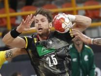 2021 IHF Handball World Championship - Main Round Group 1 - Germany v Brazil