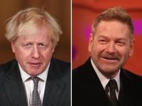 Kenneth Branagh spielt Boris Johnson