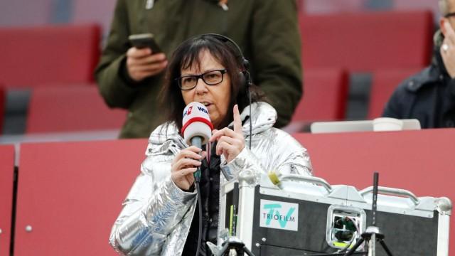 1.FC Köln vs. Bayer Leverkusen 15. Spieltag 14.12.2019, 15.30 Uhr WDR Reporterin Sabine Töpperwien DFL REGULATIONS PROH