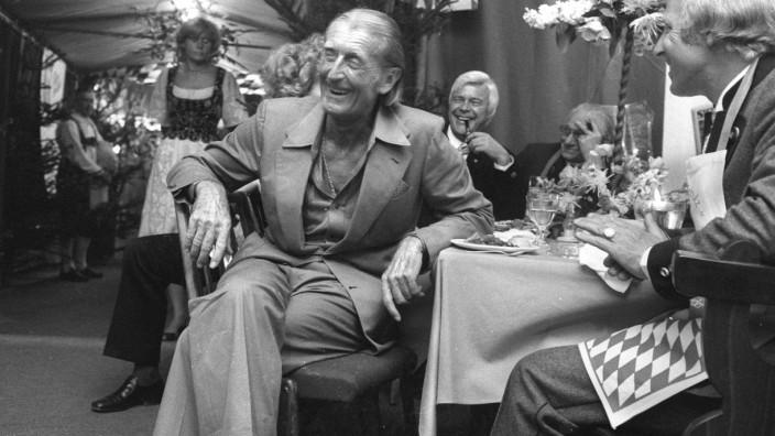 Sigi Sommer (1914 - 1996) Schriftsteller, Journalist bei Abendzeitung München, in der er mit seiner Kolumne ãBlasius de