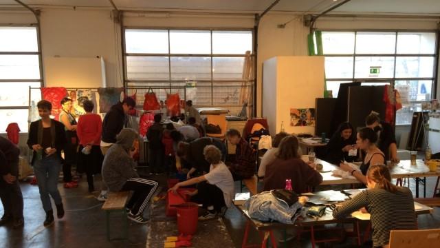 Kreativquartier Dachauer Straße Imal Offene Atelier Bilder von Uli Gläß