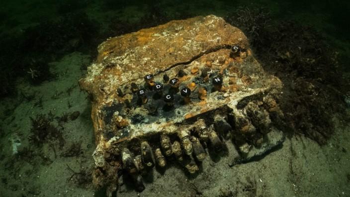 Chiffriermaschine aus 2. Weltkrieg gefunden