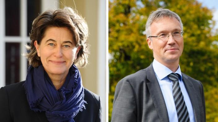 Christine Kugler und Georg Dunkel