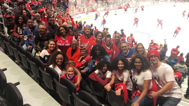 Black Girl Hockey Club, Washington Capitals