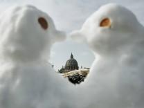 Winter und Corona: Schnee, Mann!