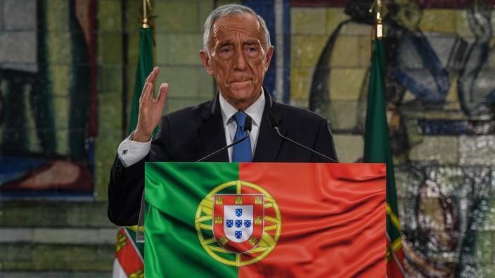 """Portugal: """"Das ist mein, euer, unser aller Auftrag!""""Portugals Präsident Marcelo Rebelo de Sousa stellte bei seiner ersten Rede nach der Wahl die Corona-Bekämpfung in den Mittelpunkt."""
