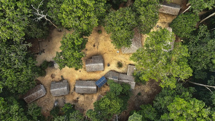 Camp for the study of wild fauna. Dzanga Sangha. Central African Republic Congo, Basse-Kotto, Central African Republic