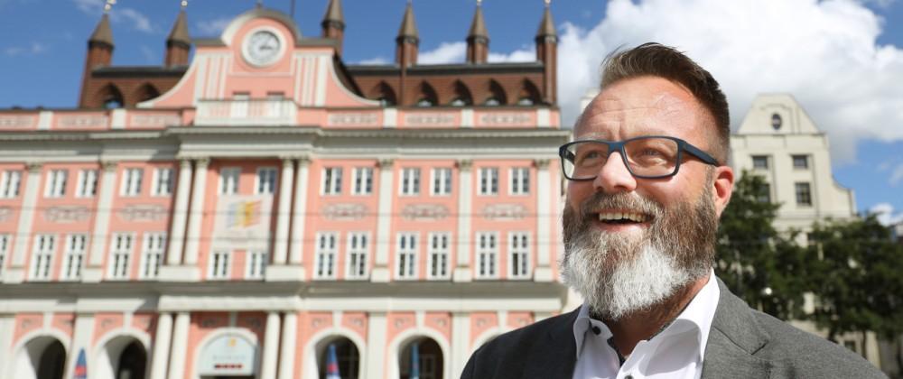 Madsen übernimmt Amt des Rostocker Oberbürgermeisters