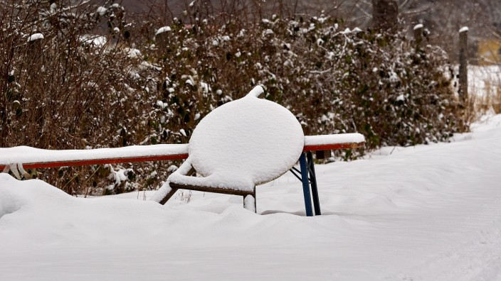 Winter an Forsthaus Hubertus