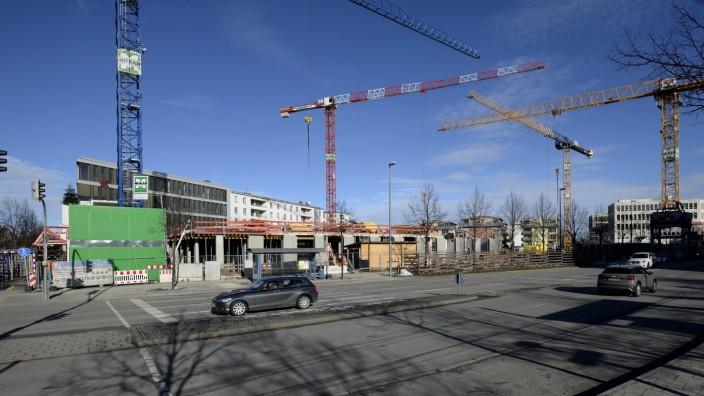Sendling: Baustelle GWG Wohnungsbau