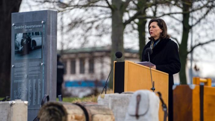 Gedenkakt zur Erinnerung an die Opfer des Nationalsozialismus