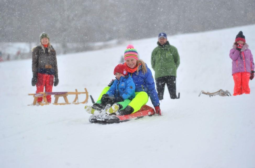 Breitbrunn: Jaudesberg Schnee- und Rodelspaß