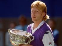 Sporthistorie: Als Boris Becker aus der Arena floh