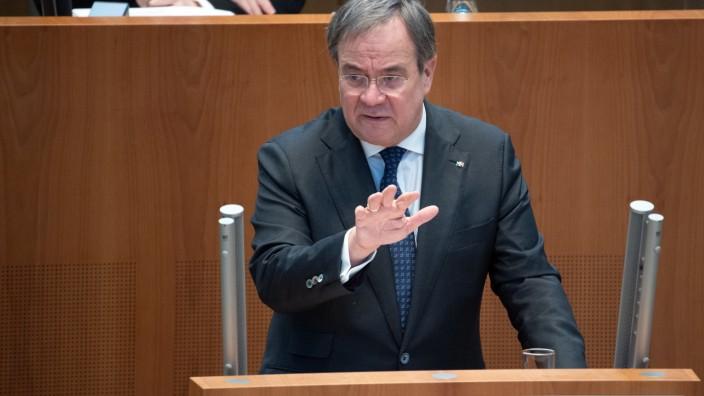 Sitzung des Landtags von Nordrhein-Westfalen