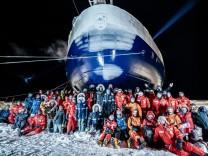Gruppenbild der Arktisforscher