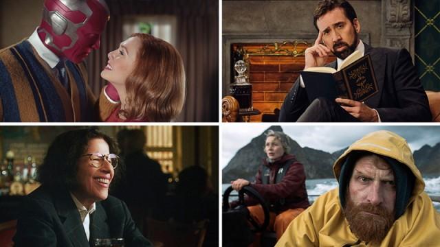 """Serien-Tipps im Januar 2021: """"WandaVision"""", """"Die Geschichte der Schimpfwörter"""", """"Twin"""" und """"Pretend it's a City"""""""