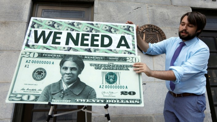 FILE PHOTO: House Democrats hold news conference to protest against delay in putting Harriet Tubman on the new $20 bill