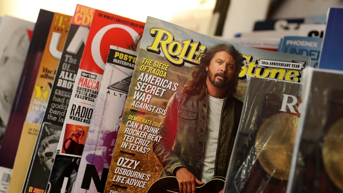 Wenner Media Puts Rolling Stone Magazine Up For Sale