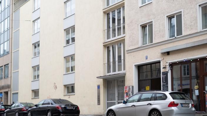 Kreuzung zwischen Barerstraße und Schellingstraße