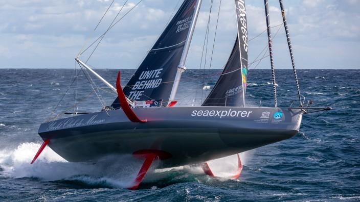 """""""Seaexplorer"""" von Boris Herrmann vor der Regatta Vendée Globe"""