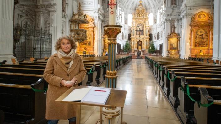 Corona Gedenken in der St.Michaelkirche.
