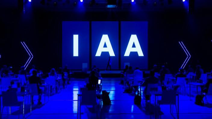 Pressekonferenz - Internationale Automobilausstellung IAA