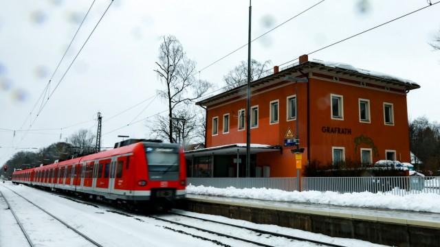 Der Bahnhof Grafrath