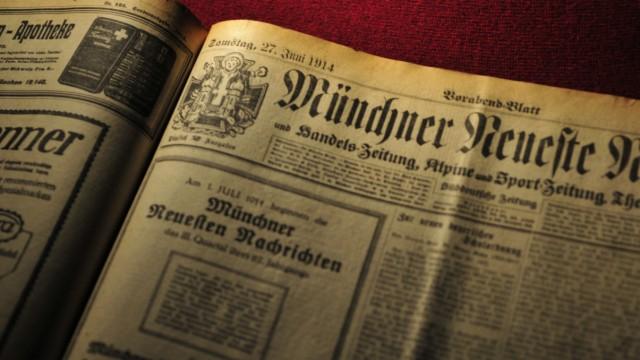 Münchner Neueste Nachrichten von 1914