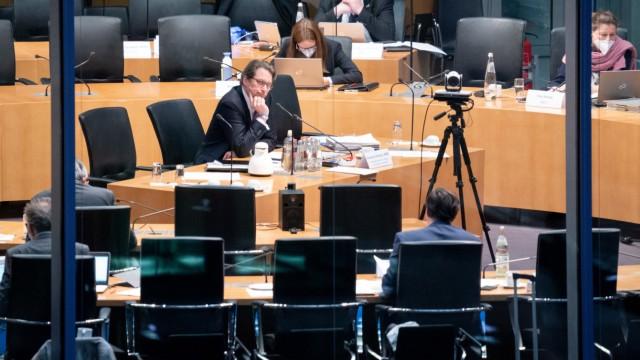 Sitzung Maut-Untersuchungsausschuss