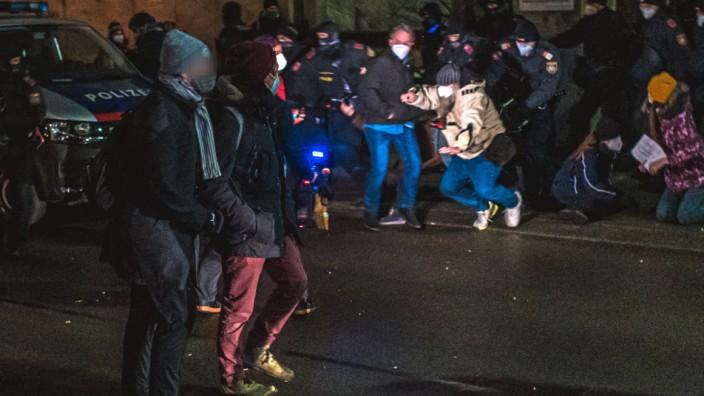 Proteste in Österreich