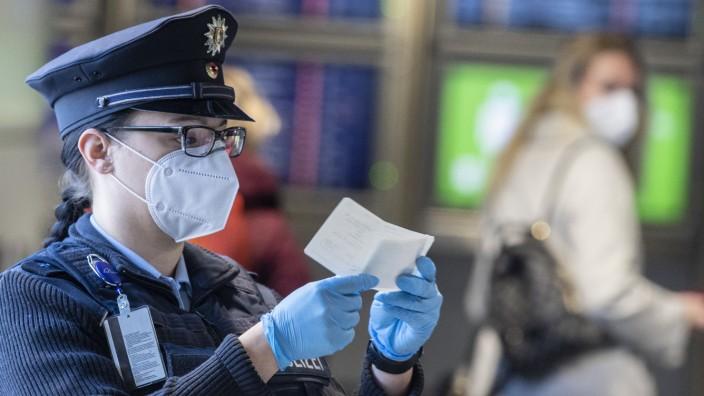 Coronavirus - Verschärfte Einreisekontrollen Frankfurt/Main