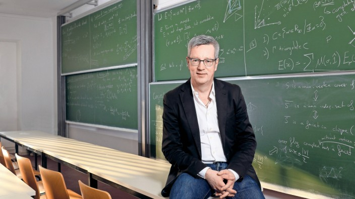 Günter M Ziegler Mathematiker und wird der neue FU Präsident Berlin Berlin Deutschland *** Günter