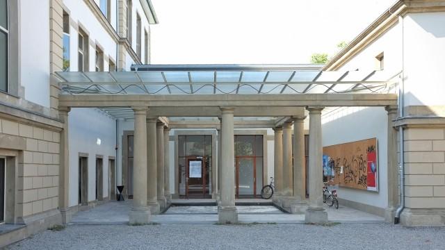 Städelschule, Haupteingang.